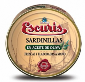 Sardinillas Escuris (2 latas)