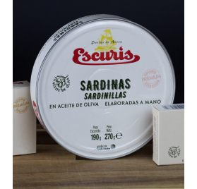 Pack de 4 latas Sardinillas Escuris